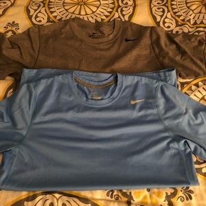 2 Men's Nike Dri Fit t-shirts-like new worn twice